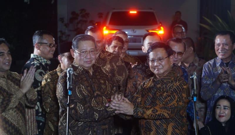 Pertemuan SBY-Prabowo
