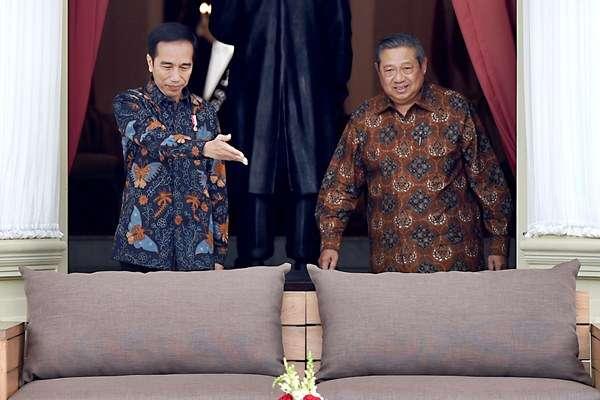 Pertemuan Jokowi-SBY/Ist