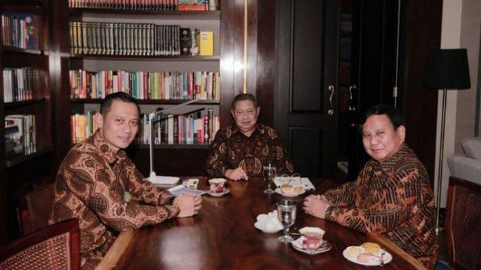 SBY, Prabowo dan AHY/Ist