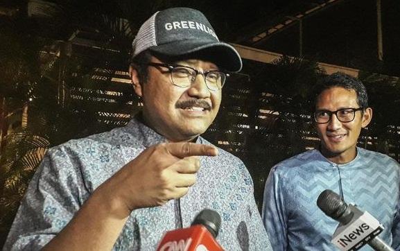 Gus Ipul dan Sandiaga Uno (Ist)