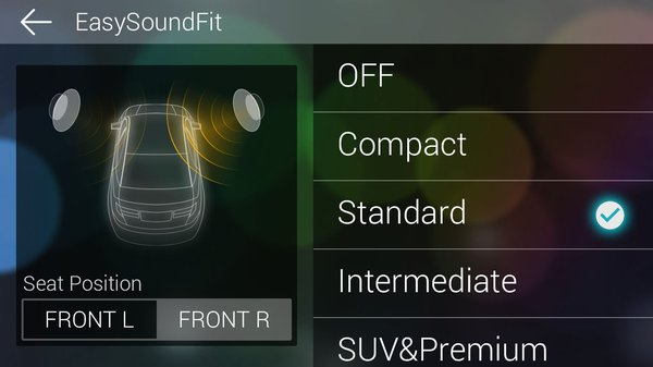 In-App Screen - Easy Sound Fit
