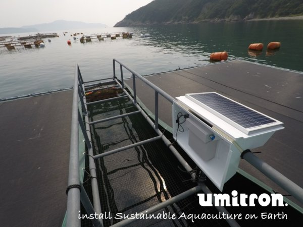 Umitron builds user & eco-friendly data platform in aquaculture to improve farm efficiency and manage environmental risk for sustainable ocean.