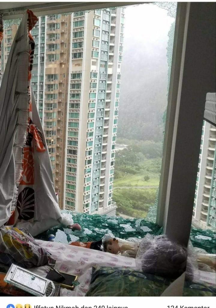 Foto : apartemen tempat AS bekerja di Qu Lohas Park Prestige