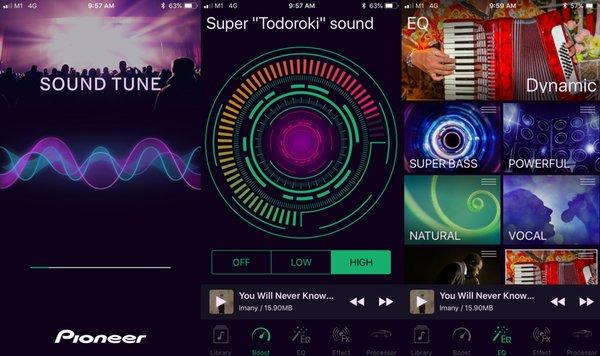 Aplikasi Pioneer Sound Tune