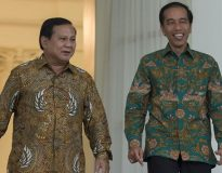 Prabowo dan Jokowi di Istana Bogor (Ist)