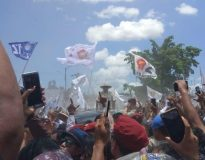 Prabowo di Manado