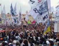 Prabowo di Gor Delta Sidoarjo (Foto : Deliknews.com)