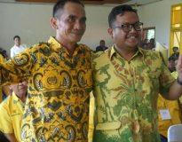 Gede Ariadi (kanan), Mundur dari Partai Golkar Buleleng dan pencalegan