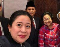 Prabowo Sandi bersama Megawati dan Puan Maharani (Istimewa)