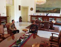 AHY dan Jokowi di Istana Bogor (Ustimewa)