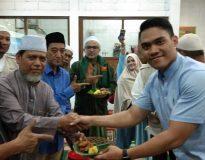 Syukuran kemenangan Prabowo-Sandi di Sidoarjo