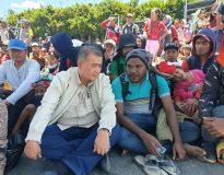 Nasrul Abit di Wamena Papua bersama warga asal Sumbar