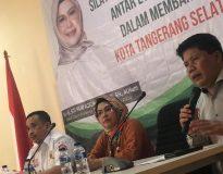 Putri Wapres SIti Nur Azizah bersama Tubagus Rahmad Sukendar, dalam rembuk pendapat