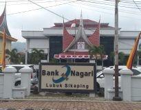 Kantor Bank Nagari Cabang Lubuk Sikaping