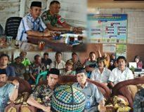 Rapat koordinasi persiapan peringatan HPS di Kantor Wali Nagari Persiapan Cubadak Barat, Jum'at (11/10).