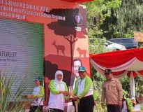 Mujid, Ketua Gapoktan Kabupaten Blitar dan juga Wakil Ketua DPRD Kabupaten Blitar (fota : Bang Jun)