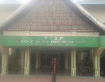Ketua DPD LSM Fopbindo Sumbar Ahmad Husein saat di Kanwil Kemenag Sumbar, Rabu (4/12).