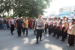 Kasih Jempol, Polres Ciamis Apel Gelar Pasukan Operasi Lilin Lodaya 2019