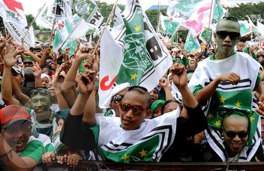 Massa PKB saat kampanye (foto : Istimewa)