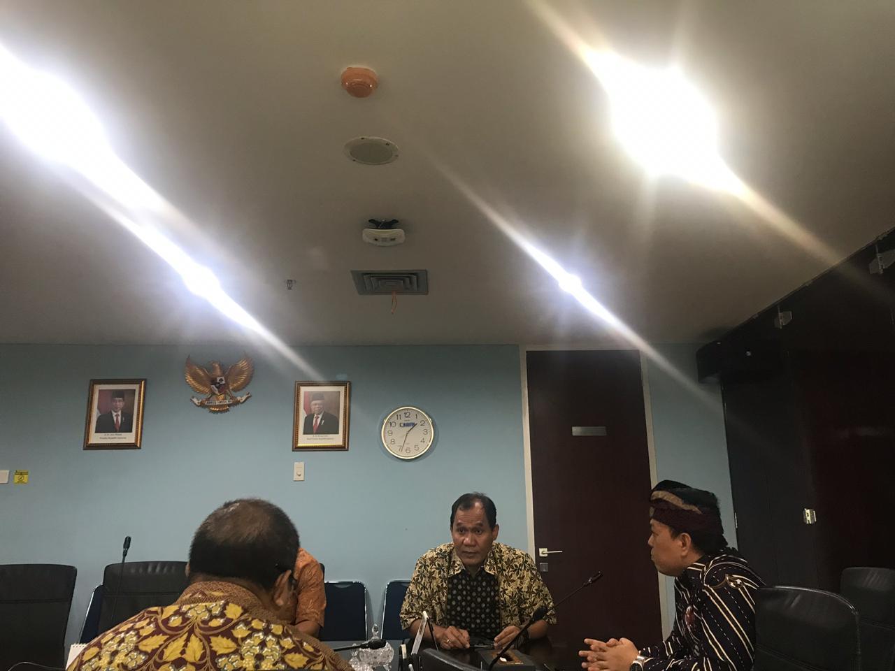 Bambang Haryo Soekartono, di Kemenko Maritim dan Investasi, Selasa (7/1)