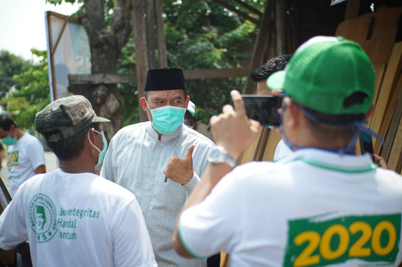 Bambang Haryo di Tulangan, Sidoarjo