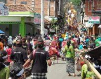 Prosesi upacara Ngaben. (Foto: istimewa)