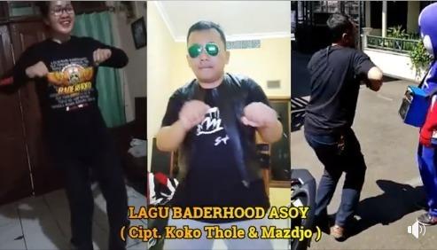 Aksi Lomba Goyang Asoy Baderhood