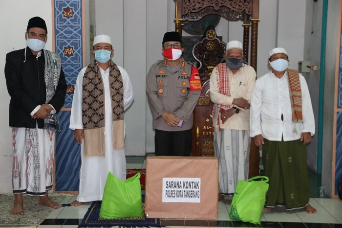 Ketika Kapolresta Tangerang Ajak Masyarakat Terapkan Protokol Kesehatan