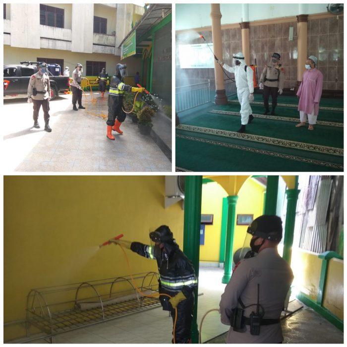 Brimob Aceh Terus Bergerak Cegah Penyebatan Covid-19