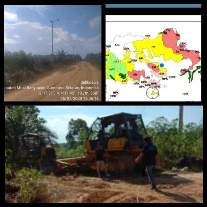 Ribuan Hektar Hutan Produksi di Bayung Lincir, Diduga Digarap Tanpa Izin