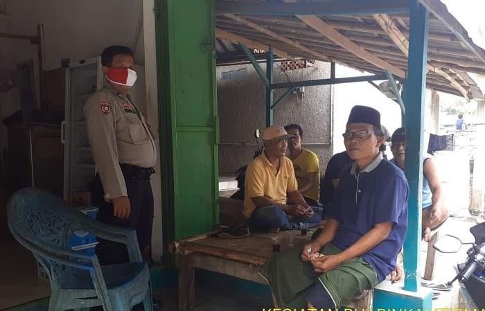 Polsek Balaraja Gencarkan Sosialisasi Protokol Kesehatan