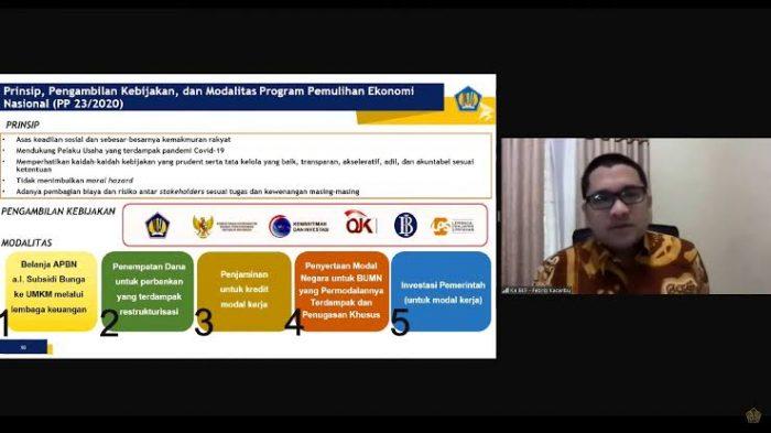 Mendukung Program Pemulihan Ekonomi Nasional