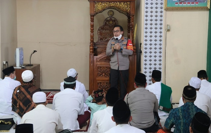 Kapolresta Tangerang Minta Jemaah Salat Jumat Terapkan Begini