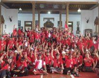 Peresmian Yayasan Kesatria Keris Bali.