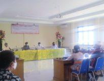 Proses mediasi masalah GOR Pranitha Citarum Denpasar yang dikeluhkan warga.