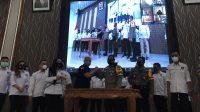 Pengukuhan DPC Sahabat Polisi Indonesia Surabaya oleh Ketum Fonda Tangguh, Jumat (20/11)