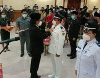 Pelantikan Perbekel Terpilih se-Kabupaten Badung. (Foto: Istimewa)